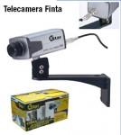 Telecamera Finta con Staffa ed Obbiettivo