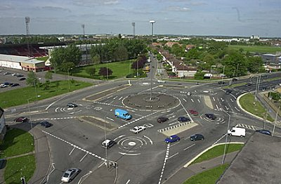 Swindon: the Magic Roundabout